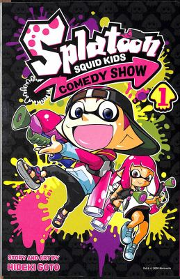 Cover image for Splatoon. Squid kids comedy show. 1