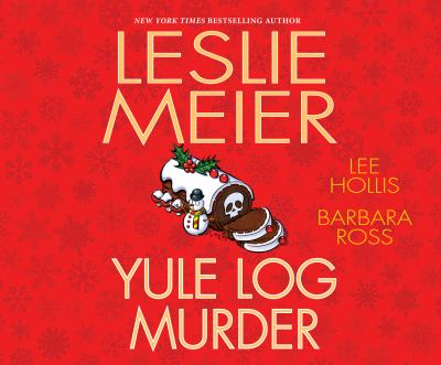 Cover image for Yule log murder