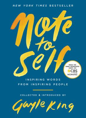 Cover image for Note to self : inspiring words from inspiring people