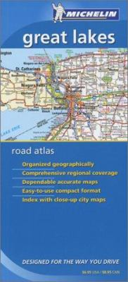 Cover image for Great Lakes road atlas : designed for the way you drive.