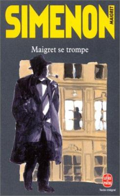 Cover image for Maigret se trompe