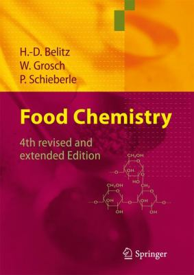 Cover image for Food chemistry with 481 figures, 923 formulas and 634 tables