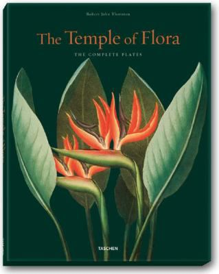 Cover image for The temple of flora : essay and descriptions of plates