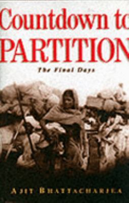 Cover image for Countdown to partition : the final days