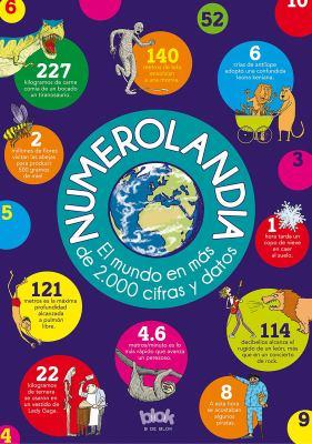 Cover image for Numerolandia : el mundo en más de 2.000 cifras y datos