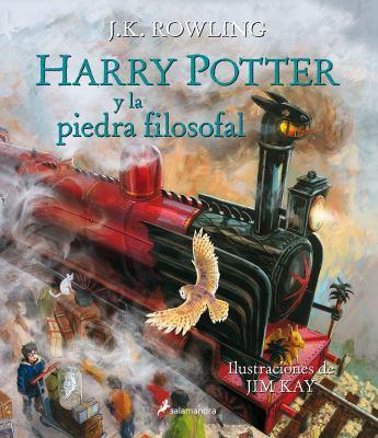 Cover image for Harry Potter y la piedra filosofal