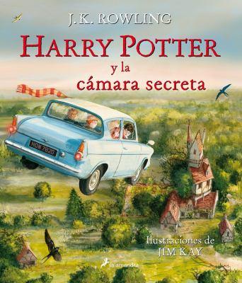 Cover image for Harry Potter y la cámara secreta