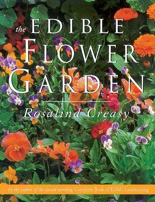 Cover image for The edible flower garden