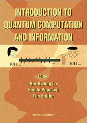 Cover image for Introduction to quantum computation and information