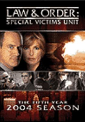 Cover image for Law & order. Special Victims Unit. The fifth year 2003-2004 season