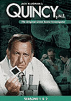 Cover image for Quincy, M.E. seasons 1 & 2