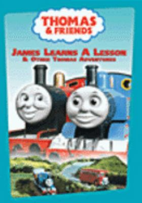 Cover image for Thomas & friends. James learns a lesson