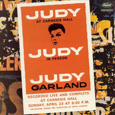 Cover image for Judy at Carnegie Hall