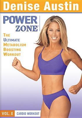 Cover image for Denise Austin power zone. The ultimate metabolism boosting workout