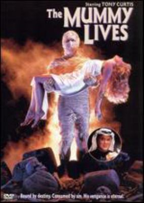 Cover image for The Mummy lives