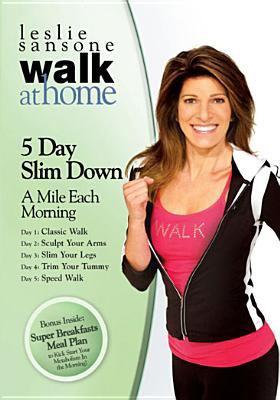 Cover image for Walk at home. 5 day slim down