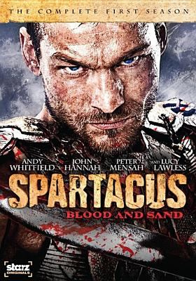 Cover image for Spartacus, blood and sand. The complete first season