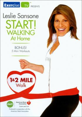 Cover image for Start! walking at home. 1 & 2 mile