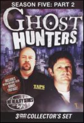 Cover image for Ghost hunters. Season five, Part 2