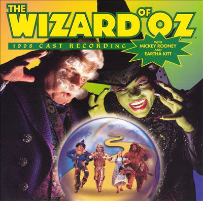 Cover image for The wizard of Oz 1998 cast recording