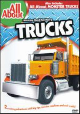 Cover image for All about trucks.