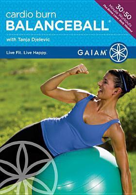 Cover image for Cardio burn. Balanceball