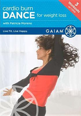 Cover image for Cardio burn. Dance for weight loss