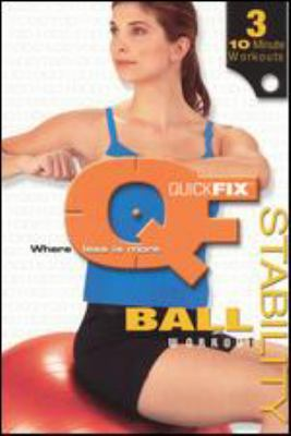 Cover image for Quick fix stability ball workout