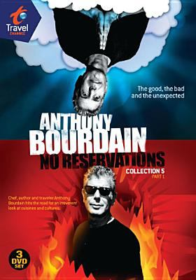 Cover image for Anthony Bourdain, no reservations. Collection 5, part 1