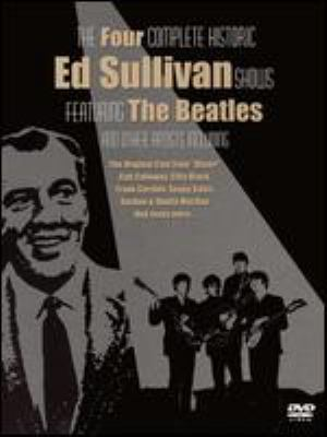 Cover image for The Ed Sullivan show featuring the Beatles and various other artists