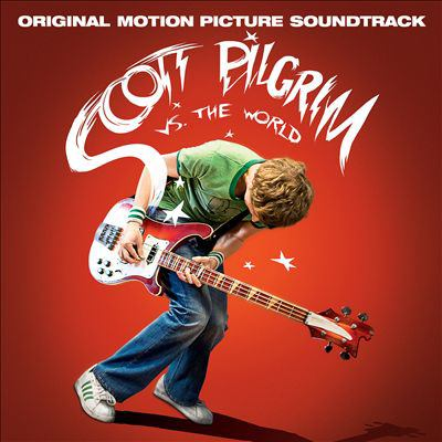 Cover image for Scott Pilgrim vs. the world original motion picture soundtrack.