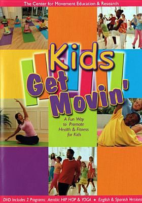 Cover image for Kids get movin'.