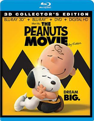 Cover image for The Peanuts movie [3D]