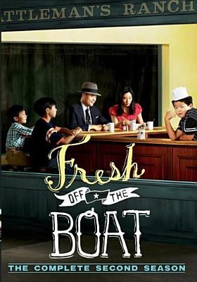 Cover image for Fresh off the boat : The complete second season.