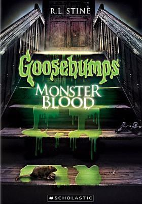 Cover image for Goosebumps. Monster blood