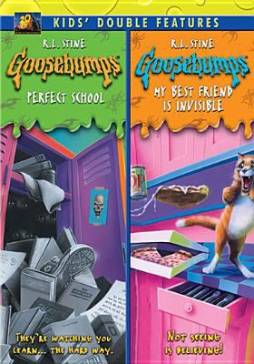 Cover image for Goosebumps. Perfect school Goosebumps. My best friend is invisible