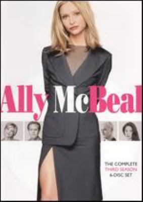 Cover image for Ally McBeal. The complete third season