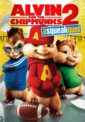 Cover image for Alvin and the Chipmunks the squeakquel.