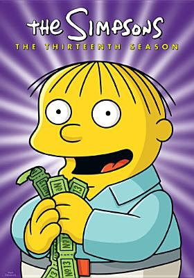 Cover image for The Simpsons. The thirteenth season