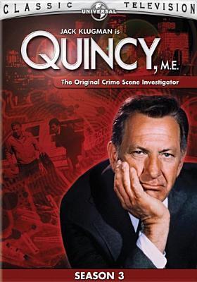 Cover image for Quincy, M.E. Season 3