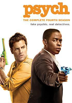Cover image for Psych. The complete fourth season