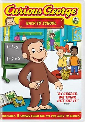 Cover image for Curious George. Back to school