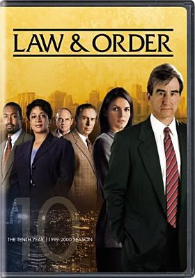 Cover image for Law & order. The tenth year