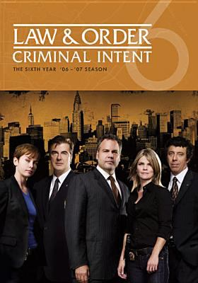 Cover image for Law & order, Criminal intent, The sixth year '06-'07 season