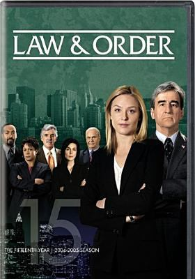 Cover image for Law & order. The fifteenth year, 2004-2005 season
