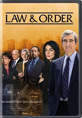 Cover image for Law & order. The sixteenth year, 2005-2006 season