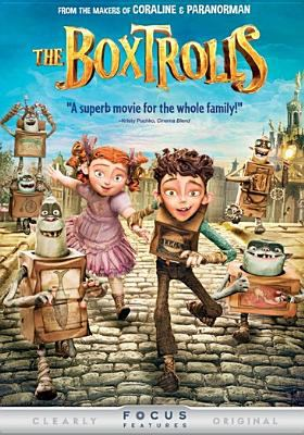 Cover image for The Boxtrolls