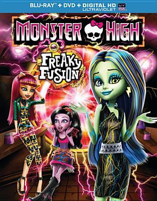 Cover image for Monster High. Freaky fusion