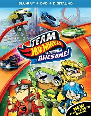 Cover image for Team hot wheels : the origin of awesome!