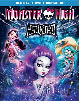 Cover image for Monster High. Haunted.